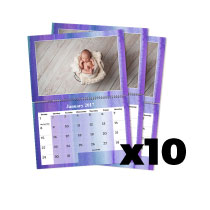 10 x A4 Double Personalised Calendar incl Delivery