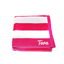 Hot Pink Beach Towel 75x150cm incl Delivery