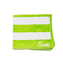 Lime Beach Towel 75x150cm incl Delivery