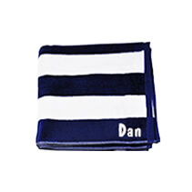 Navy Beach Towel 75x150cm incl Delivery