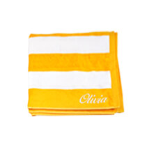 Yellow Beach Towel 75x150cm incl Delivery