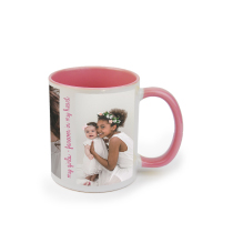 Mug Pink Coloured 325ml incl Delivery