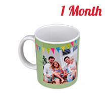 Mug 325ml incl Delivery  - 1 month