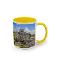 Mug Yellow Coloured 325ml incl Delivery