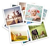 Photo Prints Large Square 150 x 150mm 24pk incl Delivery
