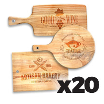 Medium Cutting Board x 20 @ $33.50 each incl Delivery