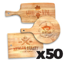 Medium Cutting Board x 50 @ $31.50 each incl Delivery