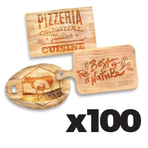 Small Cutting Board x 100 @ $20.00 each incl Delivery