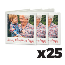 100 x 100cm Greeting Card x 25 @ $1.12 each incl Delivery