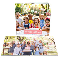 20pg 12x12inch (30x30cm) Pro Hardcover Lay-Flat incl Delivery