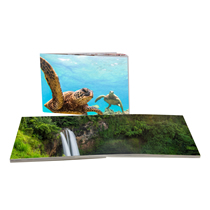 120pg 8x11inch (20x28cm) Pro Softcover Lay-Flat incl Delivery